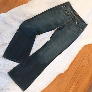 7 For All Mankind Size 28 Flare Jeans